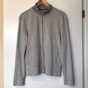 Banana Republic Full Zip Sweater Front Pockets - S
